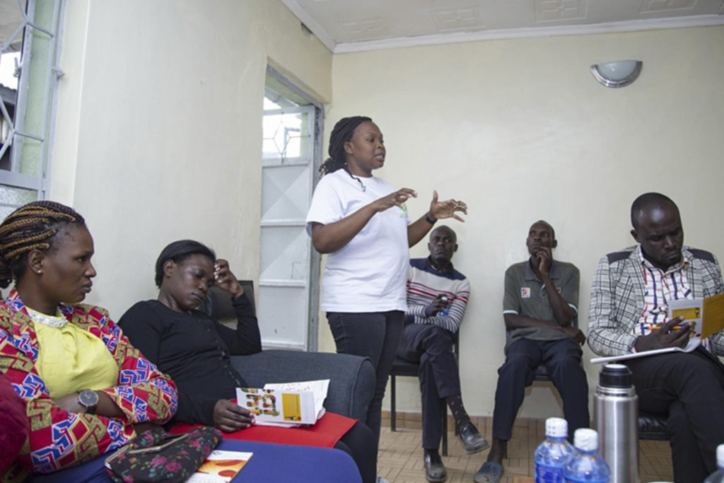 Sickle Cell Awareness Forum at Claire's Community Centre Dandora 7 - Joanne Chazima Sickle Cell Foundation